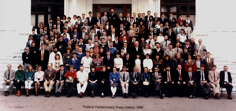Federal Parliamentary Press Gallery, 1988.