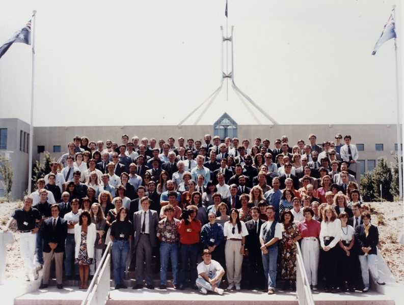 Federal Parliamentary Press Gallery, 1992